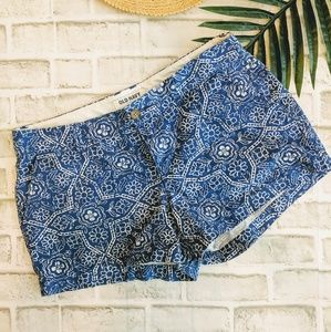 Blue and white shorts by Old navy